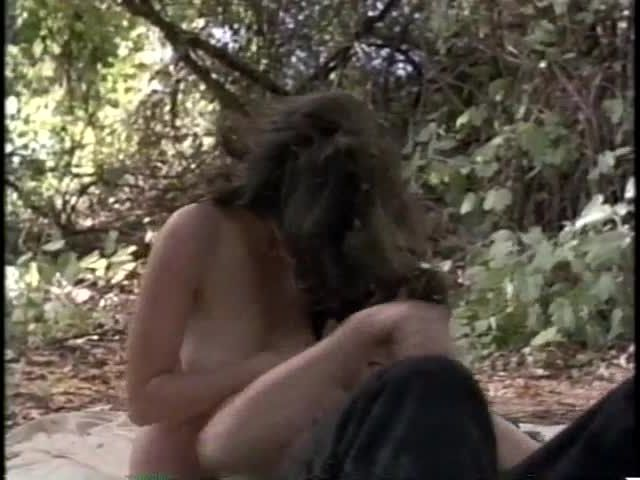 hardcore sex in the forest with big dick man