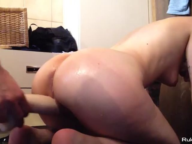 Monster anal creampie
